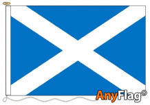 ST ANDREWS LIGHT BLUE ANYFLAG RANGE - VARIOUS SIZES